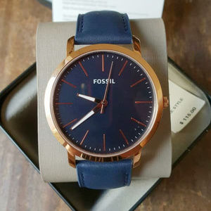Fossil BQ2424 Luther Three - Hand Leather Watch